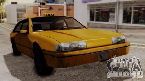 Taxi Emperor v1.0 для GTA San Andreas вид сзади слева