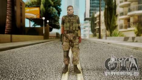 Venom Snake Woodland для GTA San Andreas второй скриншот