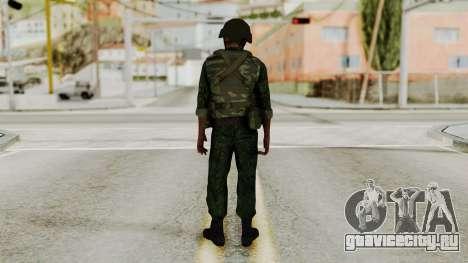 Боец ВДВ для GTA San Andreas третий скриншот
