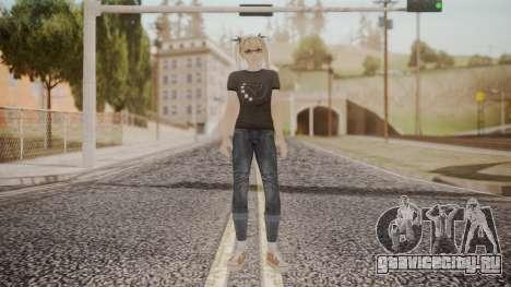 DoA 5 Ultimate - Marie Rose Punk для GTA San Andreas второй скриншот