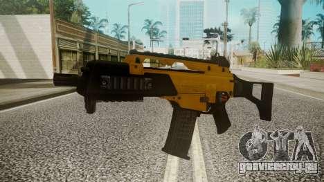 G36C Gold для GTA San Andreas второй скриншот