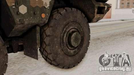 Tempest (устройство) для GTA San Andreas вид сзади слева