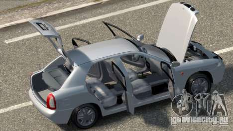 Daewoo Nubira I Hatchback CDX 1997 для GTA 4 вид изнутри
