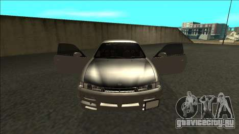 Nissan 200sx Drift JDM для GTA San Andreas вид изнутри