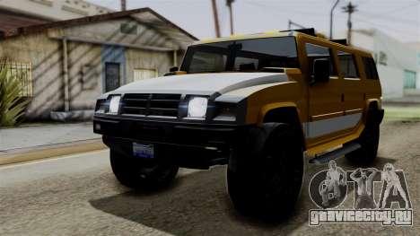 Luchadores Bulldog (Patriot) from SR3 для GTA San Andreas