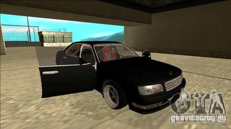 Nissan Cedric Drift для GTA San Andreas вид сбоку