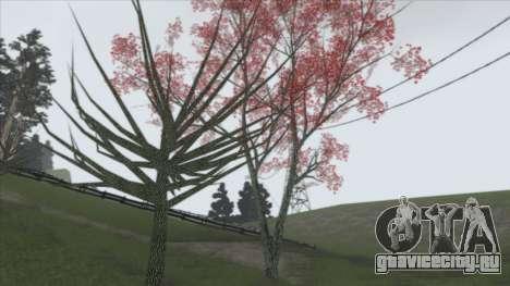 Autumn in SA v2 для GTA San Andreas третий скриншот