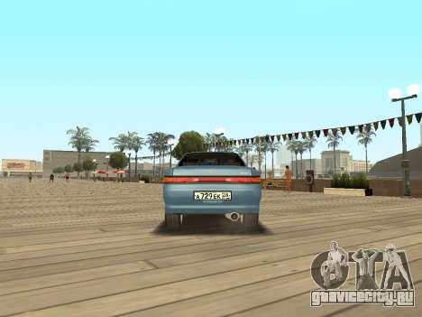 Toyota Mark II для GTA San Andreas вид справа