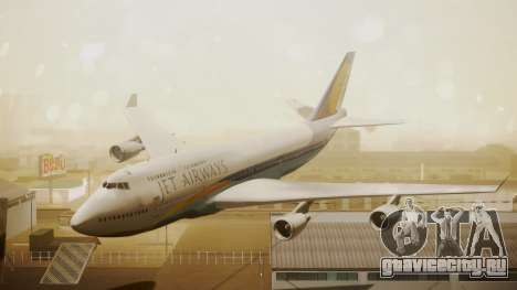 Boeing 747-400 Jat Airways для GTA San Andreas