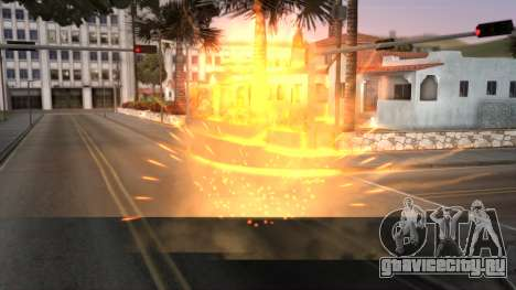 Realistic Effects Particles для GTA San Andreas второй скриншот