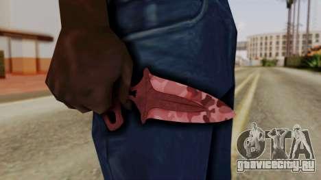 Shadow Dagger Убийство для GTA San Andreas третий скриншот