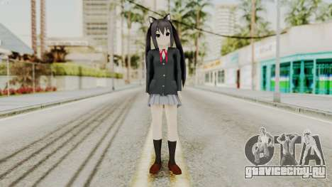 K - ON Remake Asuza Nakano для GTA San Andreas второй скриншот