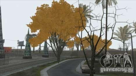 Autumn in SA v2 для GTA San Andreas
