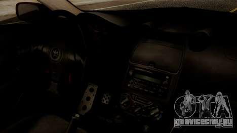Toyota Celica SS2 Tunable для GTA San Andreas вид справа