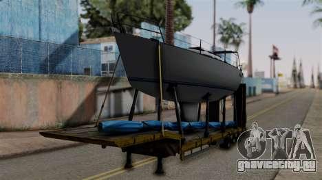 Overweight Trailer Yellow для GTA San Andreas