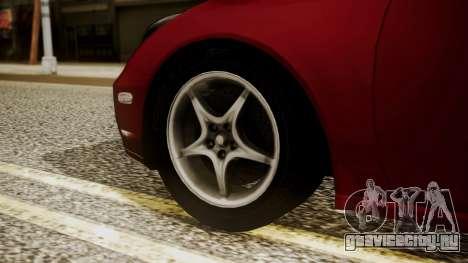 Toyota Celica SS2 Tunable для GTA San Andreas вид сзади слева