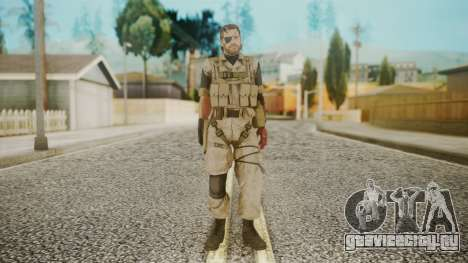 Venom Snake Desert Fox для GTA San Andreas второй скриншот