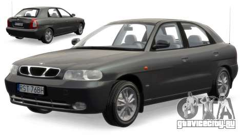 Daewoo Nubira I Hatchback CDX 1997 для GTA 4