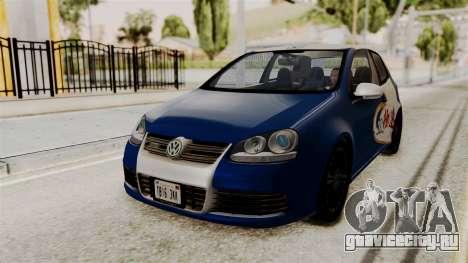 Volkswagen Golf R32 NFSMW05 Sonny PJ для GTA San Andreas вид сзади