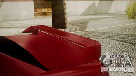 Elegy NR32 with Neon для GTA San Andreas вид справа