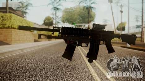 M4 with M26 Mass для GTA San Andreas
