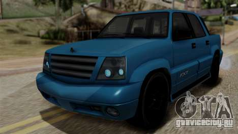 Syndicate Criminal (Cavalcade FXT) from SR3 для GTA San Andreas