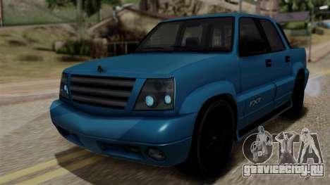 Syndicate Criminal (Cavalcade FXT) from SR3 для GTA San Andreas