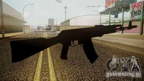 AK-74M Battlefield 3 для GTA San Andreas третий скриншот