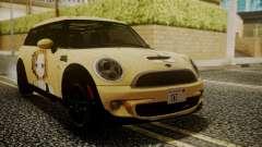 Mini Cooper Clubman 2011 K-ON Ritsu Itasha для GTA San Andreas