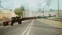 SVD Battlefield 3 для GTA San Andreas
