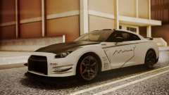 Nissan GT-R R35 2012 v2 для GTA San Andreas