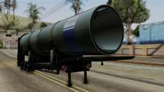 Overweight Trailer Black для GTA San Andreas