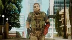 Venom Snake Woodland для GTA San Andreas