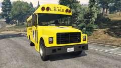 Классический школьный автобус