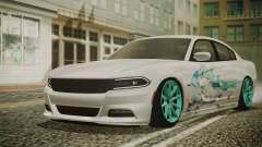 Dodge Charger RT 2015 Hatsune Miku