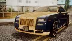 Rolls-Royce Ghost Mansory v2 для GTA San Andreas