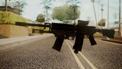 M4 with M26 Mass для GTA San Andreas