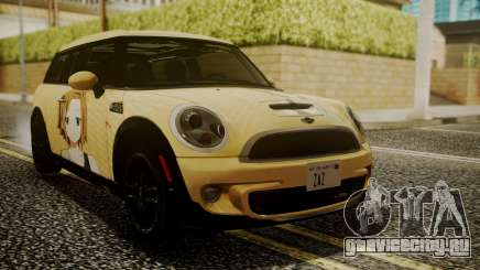 Mini Cooper Clubman 2011 K-ON Ritsu Itasha для GTA San Andreas
