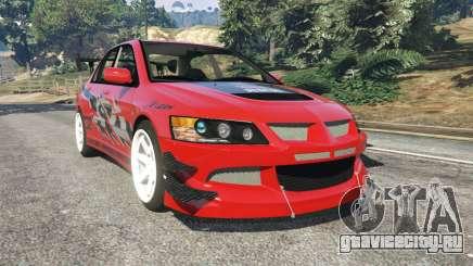 Mitsubishi Lancer Evolution IX FNF для GTA 5