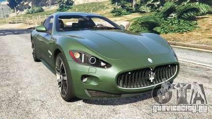 Maserati GranTurismo S 2010 для GTA 5