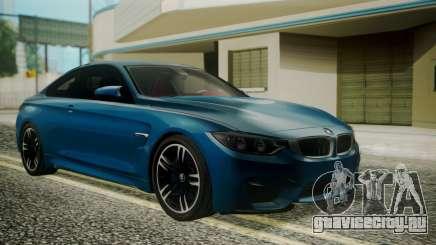 BMW M4 Coupe 2015 Brushed Aluminium для GTA San Andreas
