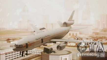 DC-10-10 National Airlines для GTA San Andreas