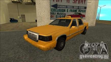 Stretch Sedan Taxi для GTA San Andreas