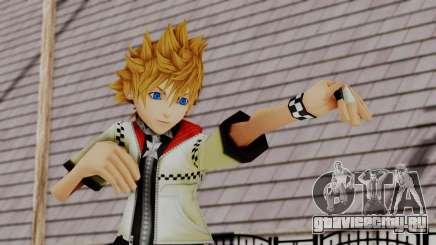 Kingdom Hearts 2 - Roxas Default для GTA San Andreas