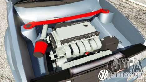 Volkswagen Corrado VR6 для GTA 5 вид сзади справа