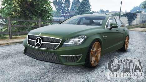 Mercedes-Benz CLS 63 AMG v1.0 для GTA 5