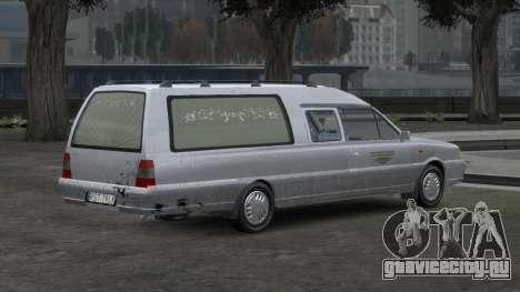 Daewoo-FSO Polonez Bella DC Hearse 1998 для GTA 4 салон