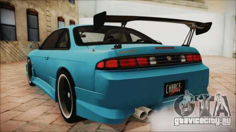Nissan Silvia S14 Chargespeed Kantai Collection для GTA San Andreas вид слева
