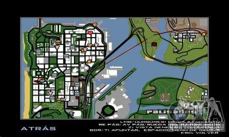 HD Radar Icons для GTA San Andreas третий скриншот