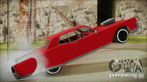 GTA 5 Vapid Chino Bobble Version IVF для GTA San Andreas вид сзади слева